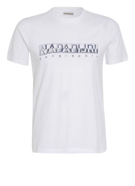NAPAPIJRI T-Shirt SALLAR, Farbe: WEISS (Bild 1)