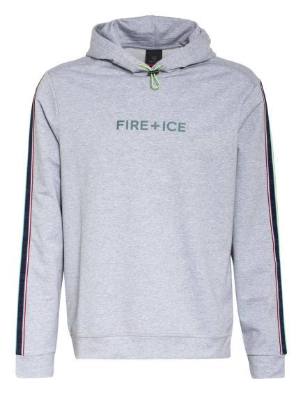 FIRE+ICE Hoodie HECTOR mit Galonstreifen, Farbe: GRAU/ HELLGRAU/ DUNKELGRAU (Bild 1)
