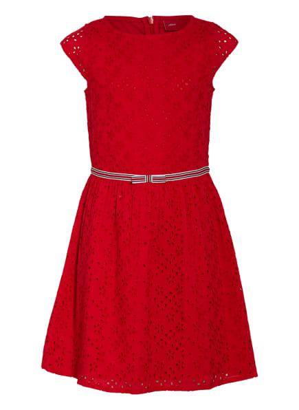 s.Oliver RED Kleid, Farbe: ROT (Bild 1)