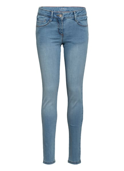 s.Oliver RED Jeans Skinny Fit, Farbe: HELLBLAU (Bild 1)