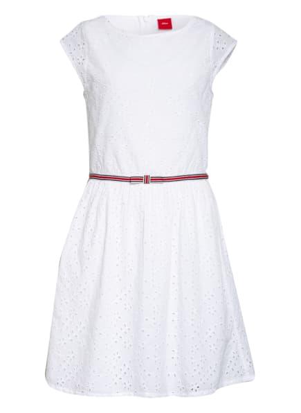 s.Oliver RED Kleid, Farbe: WEISS (Bild 1)