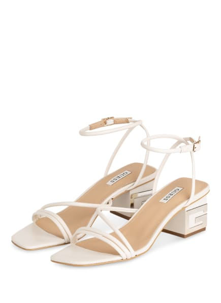 GUESS Sandaletten MACRE , Farbe: CREME (Bild 1)