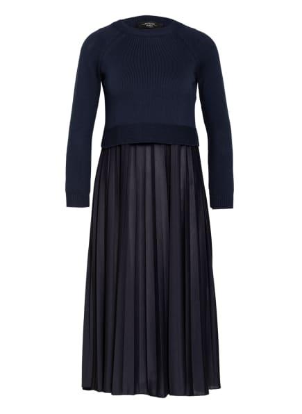 WEEKEND MaxMara Kleid AIDONE mit Pullover, Farbe: DUNKELBLAU (Bild 1)