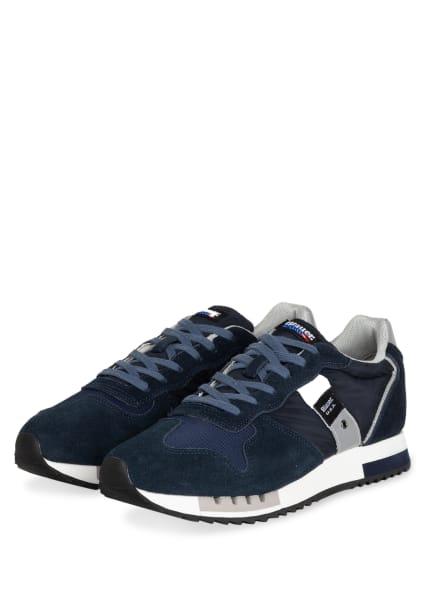 Blauer Sneaker QUEENS, Farbe: DUNKELBLAU (Bild 1)