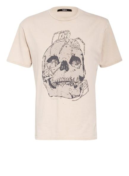 tigha T-Shirt SKULL & SPIDER LESSIO, Farbe: BEIGE (Bild 1)