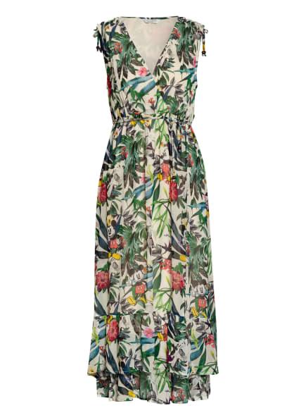 FrogBox Kleid, Farbe: ECRU/ GRÜN/ ROT (Bild 1)