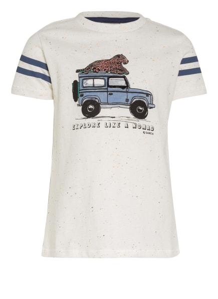 GARCIA T-Shirt, Farbe: ECRU/ BLAU (Bild 1)