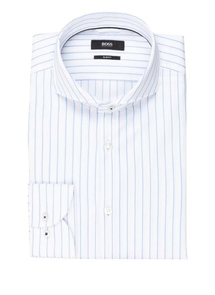 BOSS Hemd JEMERSON Slim Fit, Farbe: WEISS/ HELLBLAU (Bild 1)