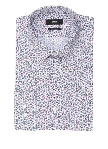 BOSS Hemd ELIOTT Regular Fit, Farbe: WEISS/ BLAU/ ROT (Bild 1)
