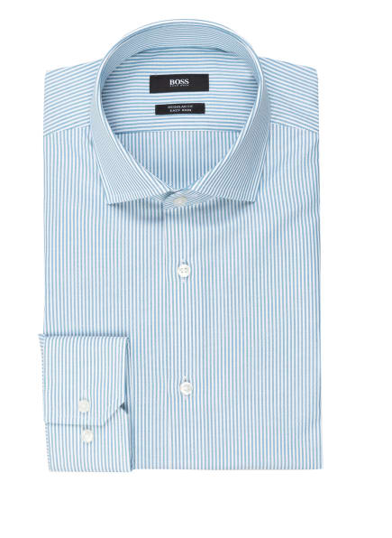 BOSS Hemd GORDON Regular Fit, Farbe: WEISS/ HELLBLAU (Bild 1)
