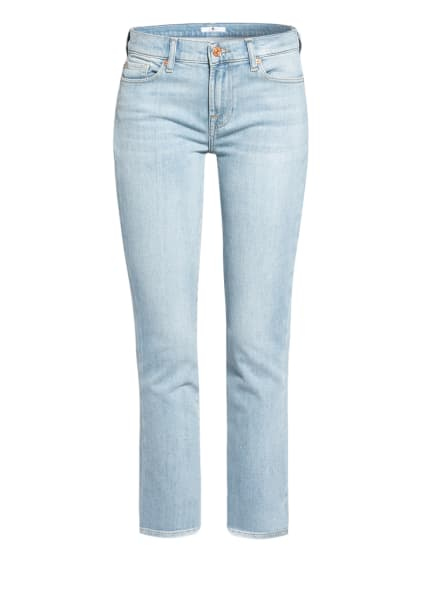 7 for all mankind 7/8-Jeans ROXANNE ANKLE, Farbe: Blurred LIGHT BLUE (Bild 1)