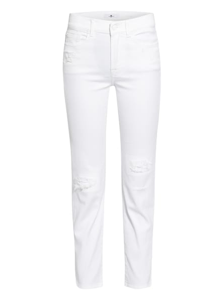 7 for all mankind 7/8-Jeans THE STRAIGHT CROP, Farbe: WEISS (Bild 1)
