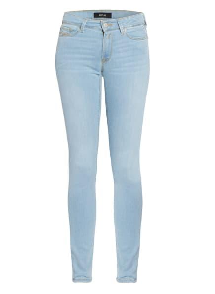 REPLAY Skinny Jeans NEW LUZ, Farbe: 010 LIGHT BLUE (Bild 1)