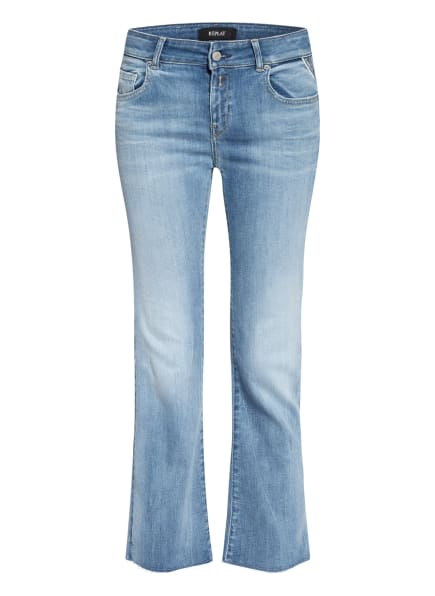 REPLAY Flared Jeans FAABY, Farbe: 010 LIGHT BLUE (Bild 1)