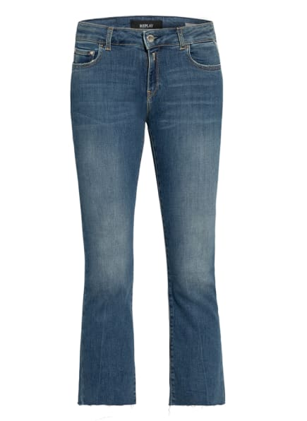 REPLAY 7/8-Jeans FAABY FLAR, Farbe: 009 MEDIUM BLUE (Bild 1)