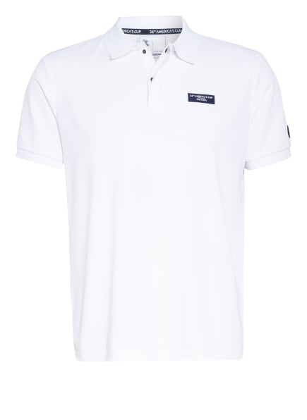 NORTH SAILS Jersey-Poloshirt HOWICK, Farbe: WEISS (Bild 1)