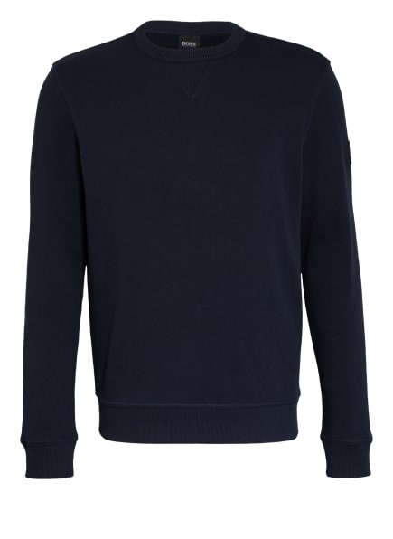 BOSS Sweatshirt WALKUP, Farbe: DUNKELBLAU (Bild 1)