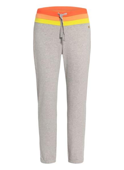 DEHA Sweatpants , Farbe: GRAU/ ORANGE/ GELB (Bild 1)