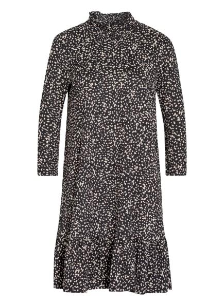 MORE & MORE Jerseykleid mit 3/4-Arm, Farbe: SCHWARZ/ BEIGE (Bild 1)