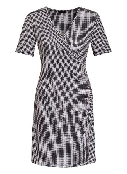 MORE & MORE Jerseykleid, Farbe: DUNKELBLAU/ WEISS/ CREME (Bild 1)