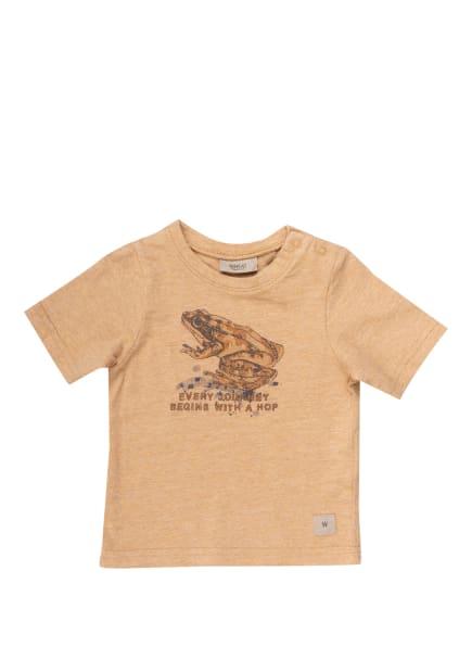 WHEAT T-Shirt FROSCH, Farbe: HELLBRAUN (Bild 1)