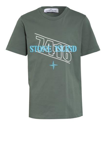 STONE ISLAND JUNIOR T-Shirt, Farbe: OLIV (Bild 1)
