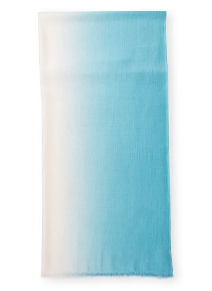 ROECKL Cashmere-Schal mit Seide, Farbe: BLAU/ MINT (Bild 1)