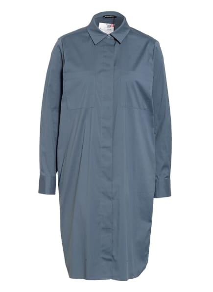 REPEAT Hemdblusenkleid, Farbe: BLAUGRAU (Bild 1)