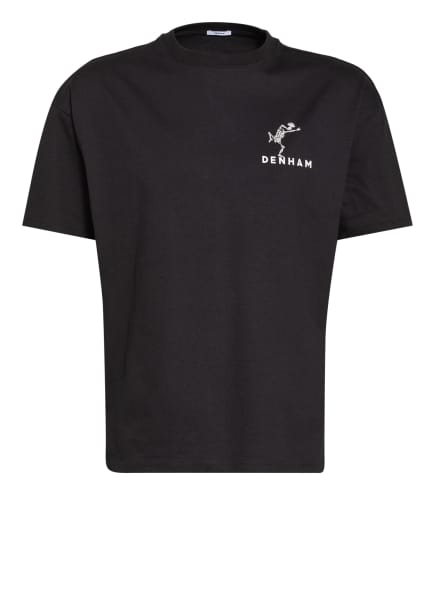 DENHAM T-Shirt HARROW, Farbe: SCHWARZ (Bild 1)