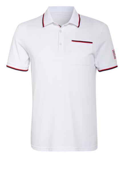 BOGNER Piqué-Poloshirt GREGORY Regular Fit, Farbe: WEISS (Bild 1)