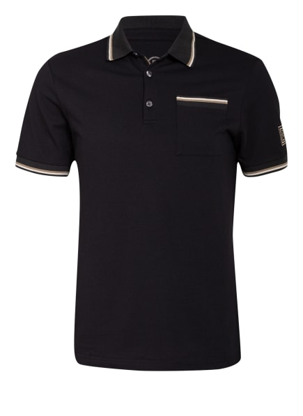 BOGNER Piqué-Poloshirt GREGORY Regular Fit, Farbe: SCHWARZ (Bild 1)