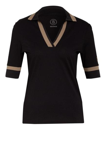 BOGNER Piqué-Poloshirt FIDA, Farbe: SCHWARZ (Bild 1)