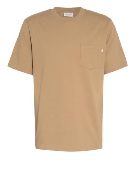 WOOD WOOD T-Shirt BOBBY, Farbe: BEIGE (Bild 1)