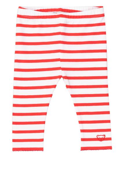 Steiff Leggings, Farbe: ROT/ WEISS (Bild 1)