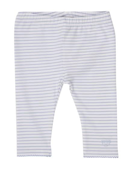 Steiff Leggings, Farbe: HELLBLAU/ WEISS (Bild 1)