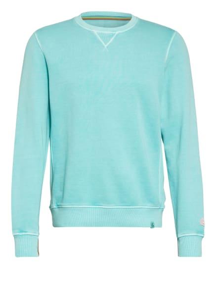 COLOURS & SONS Sweatshirt EDGAR, Farbe: TÜRKIS (Bild 1)