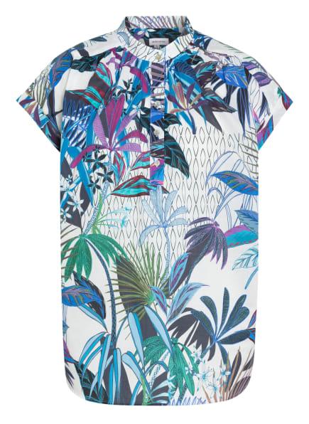 seidensticker Blusenshirt, Farbe: DUNKELBLAU/ WEISS (Bild 1)