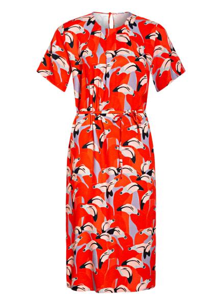 seidensticker Kleid, Farbe: ROT/ BLAUGRAU/ NUDE (Bild 1)