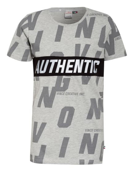 VINGINO T-Shirt HECELLO, Farbe: GRAU/ HELLGRAU/ SCHWARZ (Bild 1)