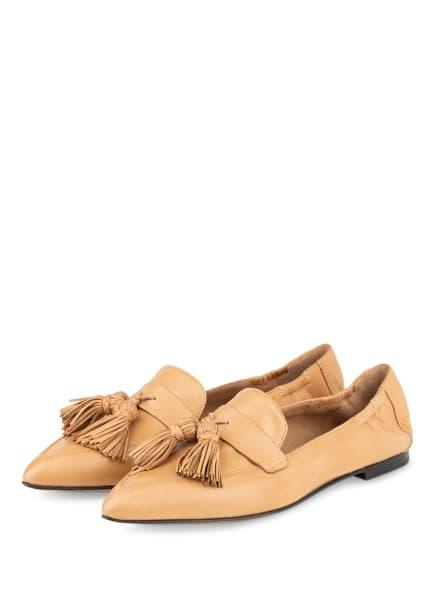 POMME D'OR Loafer GRACE, Farbe: CAMEL (Bild 1)