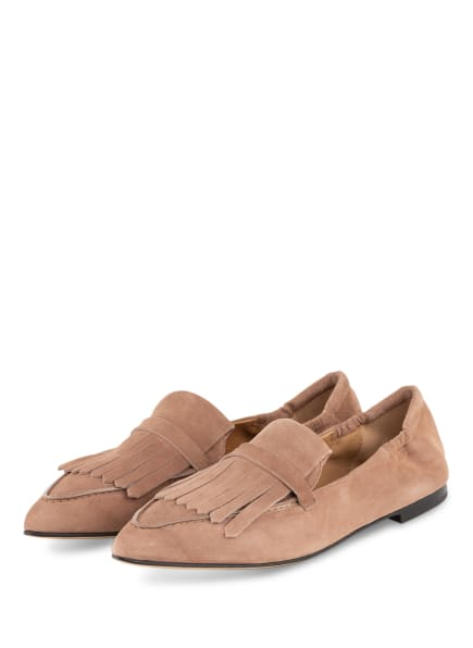 POMME D'OR Loafer GRACE, Farbe: HELLBRAUN (Bild 1)