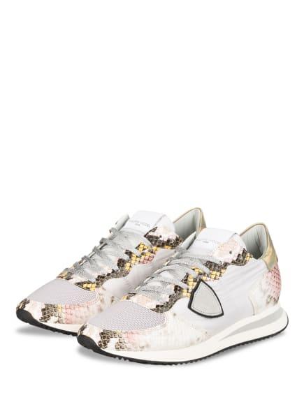 PHILIPPE MODEL Sneaker TRPX , Farbe: KHAKI/ OLIV/ NEONPINK (Bild 1)