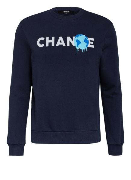 mavi Sweatshirt, Farbe: DUNKELBLAU (Bild 1)