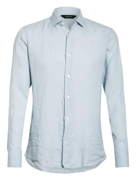 ZZegna Leinenhemd Regular Fit , Farbe: HELLBLAU (Bild 1)
