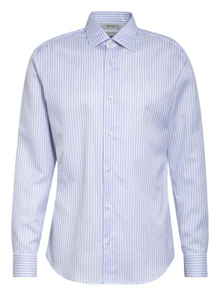 ZZegna Hemd Regular Fit mit Leinen, Farbe: WEISS/ HELLBLAU (Bild 1)