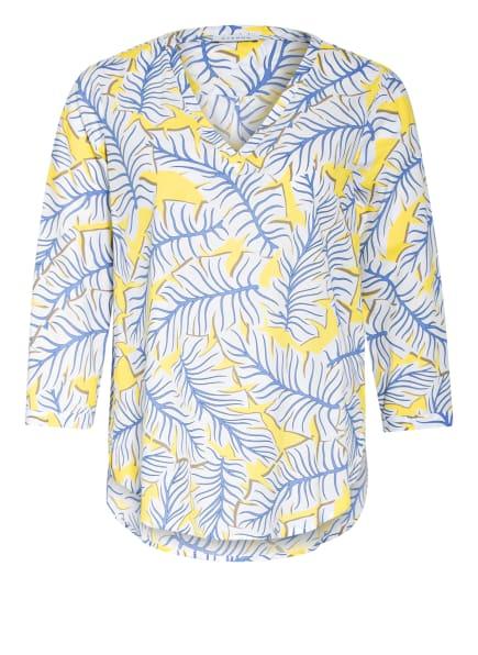 ETERNA Blusenshirt mit 3/4-Arm, Farbe: WEISS/ GELB/ HELLBLAU (Bild 1)
