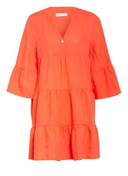 FRIEDA&FREDDIES Leinenkleid mit 3/4-Arm, Farbe: ORANGE (Bild 1)