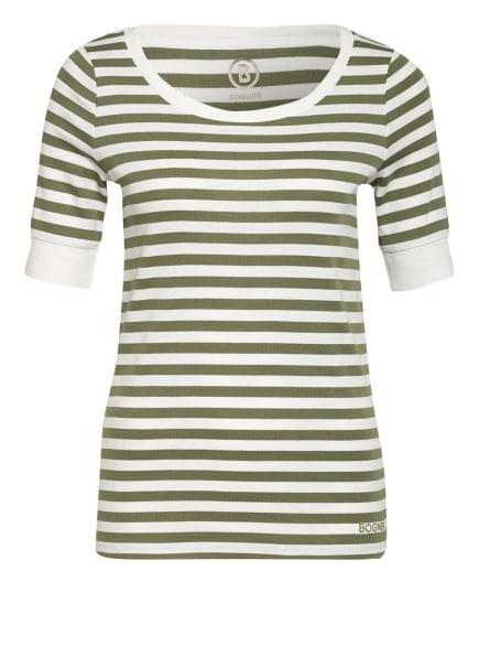 BOGNER T-Shirt JACKIE, Farbe: OLIV/ WEISS (Bild 1)