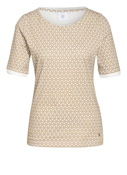 BOGNER T-Shirt ABY, Farbe: BEIGE/ WEISS (Bild 1)