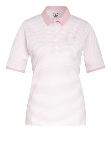 BOGNER Piqué-Poloshirt TAMMY, Farbe: WEISS/ NUDE (Bild 1)